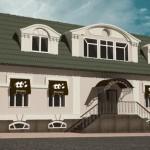 "Фасад ресторана ""Bears Bar"", г. Ногинск"