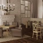 Проект ресторана в Перми на ул. Крисанова - 1 этаж