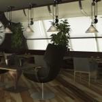 Проект ресторана в Перми на ул. Крисанова — 2 этаж